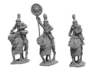 ANC20285 - Parthian Cataphract Command (1st Century) on Camels